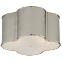 Visual Comfort AH4035PN-FG Alexa Hampton Basil 3 Light 24 inch Polished Nickel Flush Mount Ceiling Light