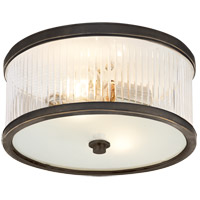 Alexa Hampton Randolph 2 Light 11 inch Bronze Flush Mount Ceiling Light