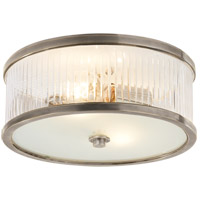 Visual Comfort AH4201AN-FG Alexa Hampton Randolph 2 Light 14 inch Antique Nickel Flush Mount Ceiling Light