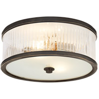 Visual Comfort AH4201BZ-FG Alexa Hampton Randolph 2 Light 14 inch Bronze Flush Mount Ceiling Light