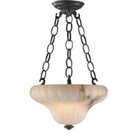 Visual Comfort Alexa Hampton Small Elizabeth Pendant in Alabaster AH5006ALB