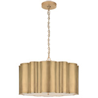 Alexa Hampton Markos 4 Light 26 inch Gild Pendant Ceiling Light, Large