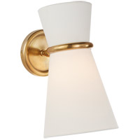 Visual Comfort ARN2008HAB-L AERIN Clarkson 1 Light 7 inch Hand-Rubbed Antique Brass Single Pivoting Sconce Wall Light Small