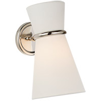 Visual Comfort ARN2008PN-L AERIN Clarkson 1 Light 7 inch Polished Nickel Single Pivoting Sconce Wall Light Small