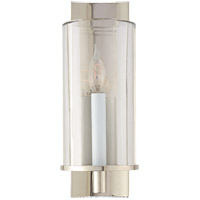 Visual Comfort ARN2010PN-CG AERIN Deauville2 1 Light 5 inch Polished Nickel Single Sconce Wall Light