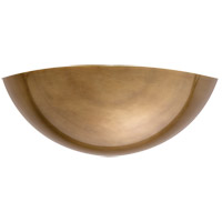 Visual Comfort ARN2020HAB AERIN Irving2 1 Light 13 inch Hand-Rubbed Antique Brass Indoor Wall Washer Wall Light