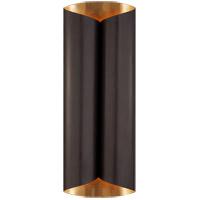 Visual Comfort ARN2037BZ/G AERIN Selfoss 4 Light 8 inch Bronze and Gild Sconce Wall Light Large