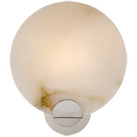 Visual Comfort ARN2039PN-ALB AERIN Iveala 1 Light 11 inch Polished Nickel Single Sconce Wall Light