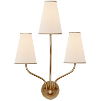 Visual Comfort ARN2051G-L AERIN Montreuil 3 Light 17 inch Gild Wall Sconce Wall Light Small