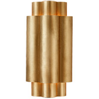 Visual Comfort ARN2307G AERIN Arabelle 2 Light 6 inch Gild Sconce Wall Light Small