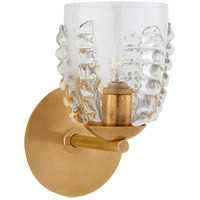 Visual Comfort ARN2418HAB-SG AERIN Gisela 1 Light 6 inch Hand-Rubbed Antique Brass Single Sconce Wall Light