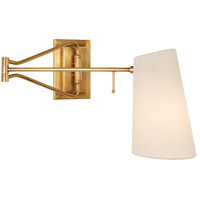Visual Comfort ARN2650HAB-L AERIN Keil 29 inch 40 watt Hand-Rubbed Antique Brass Swing Arm Wall Light