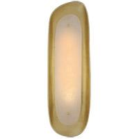 Visual Comfort ARN2922G-ALB AERIN Samos LED 7 inch Gild Sculpted Sconce Wall Light Tall