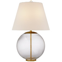Visual Comfort ARN3000CG-L AERIN Morton 25 inch 100 watt Clear Glass Table Lamp Portable Light