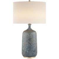 Visual Comfort ARN3608BLL-L AERIN Culloden 33 inch 150 watt Blue Lagoon Table Lamp Portable Light