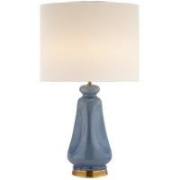 Visual Comfort ARN3614PBC-L AERIN Kapila 29 inch 60 watt Polar Blue Crackle Table Lamp Portable Light
