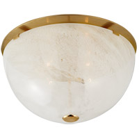 Visual Comfort ARN4010HAB-WG AERIN Serein 4 Light 18 inch Hand-Rubbed Antique Brass Flush Mount Ceiling Light Large