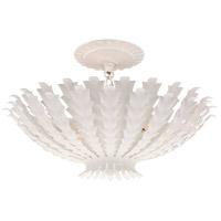Visual Comfort ARN4011PW AERIN Hampton 3 Light 17 inch Plaster White Chandelier Ceiling Light Small