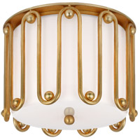 Visual Comfort ARN4021G-WG AERIN Molene 2 Light 11 inch Gild Flush Mount Ceiling Light Small