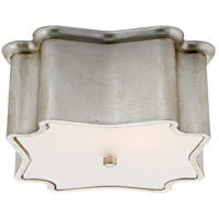Visual Comfort ARN4047BSL AERIN Bolsena 2 Light 12 inch Burnished Silver Leaf Flush Mount Ceiling Light