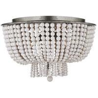 Visual Comfort ARN4102BSL-WG AERIN Jacqueline 4 Light 18 inch Burnished Silver Leaf Flush Mount Ceiling Light