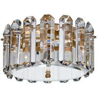 Visual Comfort ARN4124HAB-CG AERIN Bonnington 4 Light 14 inch Hand-Rubbed Antique Brass Flush Mount Ceiling Light Small