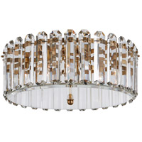 Visual Comfort ARN4126HAB AERIN Bonnington 5 Light 25 inch Hand-Rubbed Antique Brass Flush Mount Ceiling Light Large