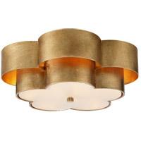 Visual Comfort ARN4307G-FG AERIN Arabelle 4 Light 20 inch Gild Flush Mount Ceiling Light Large