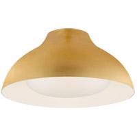 Visual Comfort ARN4350G-SWG AERIN Agnes LED 15 inch Gild Flush Mount Ceiling Light