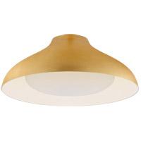 Visual Comfort ARN4351G-SWG AERIN Agnes LED 18 inch Gild Flush Mount Ceiling Light