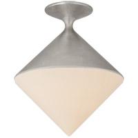 Visual Comfort ARN4355BSL-WG AERIN Sarnen LED 14 inch Burnished Silver Leaf Flush Mount Ceiling Light Small