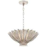 Visual Comfort ARN5001BSL AERIN Hampton 3 Light 22 inch Burnished Silver Leaf Chandelier Ceiling Light Medium