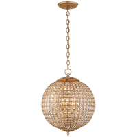 Visual Comfort ARN5100G-CG AERIN Renwick 4 Light 19 inch Gild Sphere Chandelier Ceiling Light, Small
