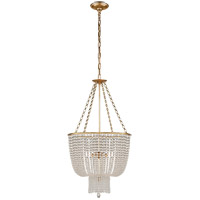 Hand-Rubbed Antique Brass AERIN Jacqueline Chandeliers