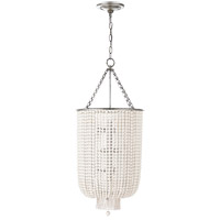 Visual Comfort ARN5103BSL-WG AERIN Jacqueline 9 Light 17 inch Burnished Silver Leaf Chandelier Ceiling Light Long