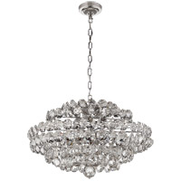 Visual Comfort ARN5105PN-CG AERIN Sanger 12 Light 29 inch Polished Nickel Chandelier Ceiling Light Small