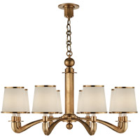 Visual Comfort ARN5112HAB-L AERIN Tuileries 8 Light 36 inch Hand-Rubbed Antique Brass Chandelier Ceiling Light