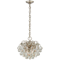 Visual Comfort ARN5122PN-CG AERIN Bellvale 6 Light 15 inch Polished Nickel Chandelier Ceiling Light Small