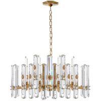 Visual Comfort ARN5125HAB-CG AERIN Bonnington 18 Light 32 inch Hand-Rubbed Antique Brass Chandelier Ceiling Light Large