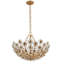 Visual Comfort ARN5220G-CG AERIN Claret 12 Light 28 inch Gild Chandelier Ceiling Light, Short