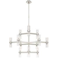 Visual Comfort ARN5272PN-CG AERIN Margita 24 Light 45 inch Polished Nickel Chandelier Ceiling Light Medium