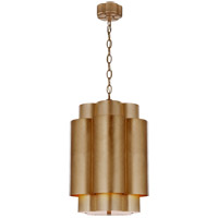 Visual Comfort ARN5305G AERIN Arabelle 6 Light 17 inch Gild Hanging Shade Ceiling Light Tall