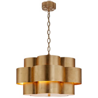 Visual Comfort ARN5306G AERIN Arabelle 5 Light 28 inch Gild Hanging Shade Ceiling Light