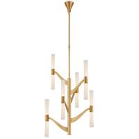 Visual Comfort ARN5473HAB-CG AERIN Brenta LED 26 inch Hand-Rubbed Antique Brass Chandelier Ceiling Light Medium Tall