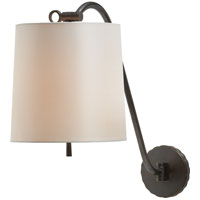 Visual Comfort Barbara Barry Understudy 1 Light Decorative Wall Light in Bronze BBL2010BZ-S