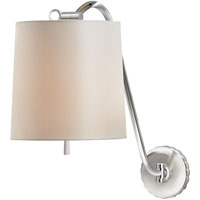 Visual Comfort Barbara Barry Understudy 1 Light Decorative Wall Light in Polished Nickel BBL2010PN-S