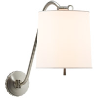 Visual Comfort Barbara Barry Understudy 1 Light 10 inch Soft Silver Decorative Wall Light BBL2010SS-S - Open Box