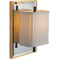 Visual Comfort Barbara Barry Sunset Plaza 1 Light Decorative Wall Light in Bronze with Wax BBL2016I/BZ-S