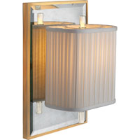 Visual Comfort Barbara Barry Sunset Plaza 1 Light Decorative Wall Light in Soft Silver BBL2016I/SS-S