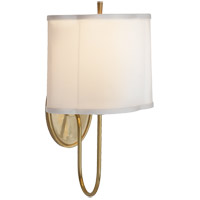 Barbara Barry Simple 1 Light 9 inch Soft Brass Decorative Wall Light
